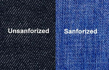 Unsanforized vs Sanforized Denim